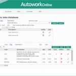 MAM Software Autowork Online Garage management software custom job templates