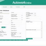 MAM Software Autowork Online Garage management software customer database