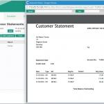 MAM Software Autowork Online Garage management software customer statement print