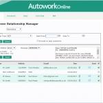 MAM Software Autowork Online Garage management software customer email reminders
