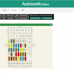 MAM Software Autowork Online Garage management software fuse box diagram