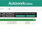 MAM Software Autowork Online Garage management software lubricants and fluids information