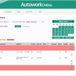 MAM Software Autowork Online Garage management software MOT workshop diary