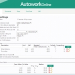 MAM Software Autowork Online Garage management software markon pricing matrix