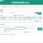 MAM Software Autowork Online Garage management software online parts ordering