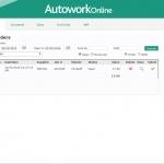 MAM Software Autowork Online Garage management software purchase order history