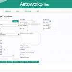 MAM Software Autowork Online Garage management software parts database