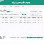 MAM Software Autowork Online Garage management software purchase ledger