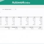 MAM Software Autowork Online Garage management software analysis reports