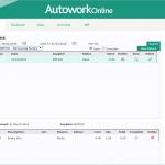 MAM Software Autowork Online Garage management software supplier returns