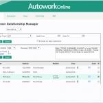 MAM Software Autowork Online Garage management software SMS messages