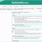 MAM Software Autowork Online Garage management software supplier service schedule database