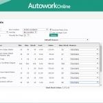 MAM Software Autowork Online Garage management software stock taking