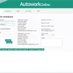 MAM Software Autowork Online Garage management software supplier database