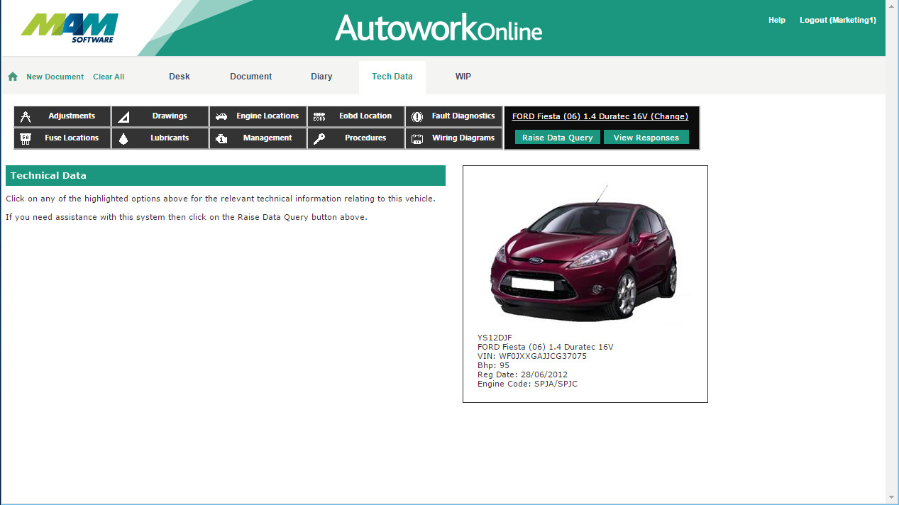 Automotive Technical Data Autowork Online Wiring Diagrams For Vehicles Sections Includes A Range Of Electrical Schematics The Vehicle