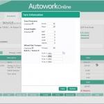 MAM Software Autowork Online Garage management software tyre information