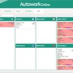 MAM Software Autowork Online Garage management software Work in progress