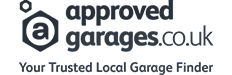 Approved garages logo