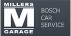 millers garage logo