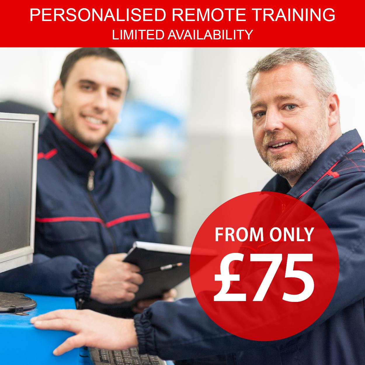 Autowork personalised remote training website